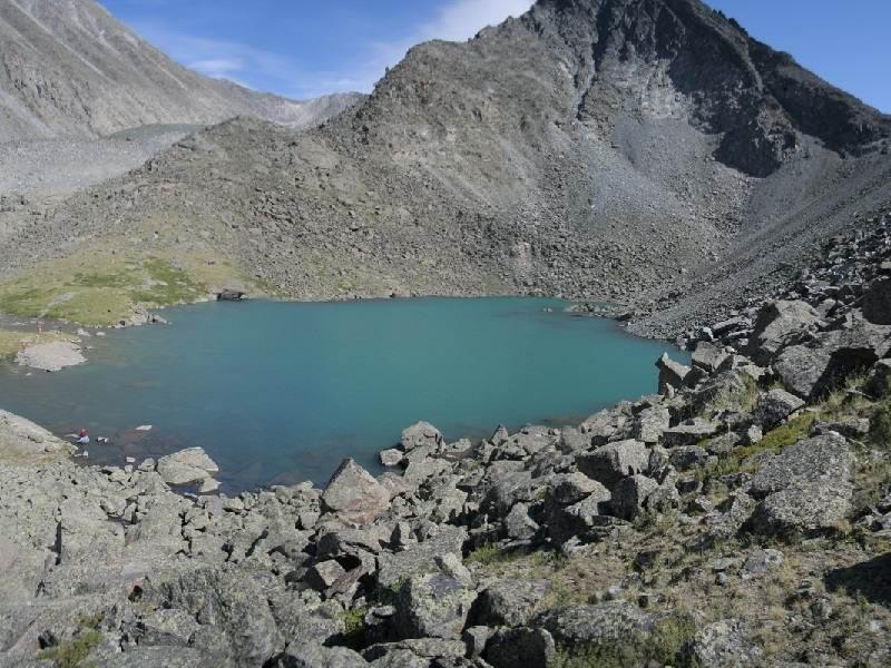Алтай. Озеро горных духов