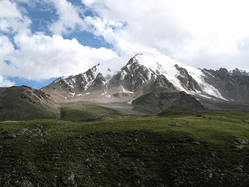Горный Алтай. Перевал туристов