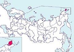 Карта местообитания американского лебедя